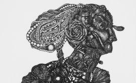 """Idialia Bednarczuk """"Istota rzeczy"""", grafika,..."""