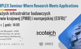 ECOTECH-COMPLEX Seminar. Where Research Meets Application...