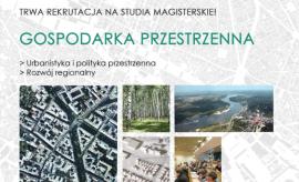 Gospodarka przestrzenna - rekrutacja przedłużona do 21.02