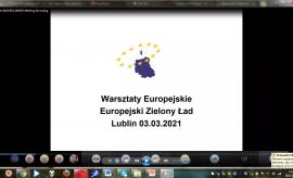 Warsztaty Europejskie 2021