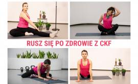 Rusz się po zdrowie z CKF - proste ćwiczenia na ból szyi...