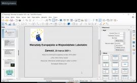 Warsztaty Europejskie 2021 - fotorelacja
