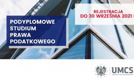 Przedłużony termin rejestracji - 30 września 2021