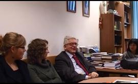 Fragment archiwalnego wywiadu z prof. dr hab. Wiesławem...