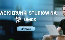 Nowe kierunki studiów na UMCS