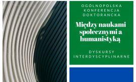 Program Ogólnopolskiej Konferencji Naukowej Doktorantów...