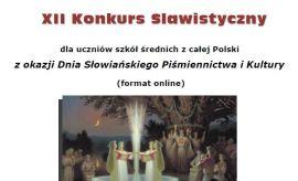 XII Konkurs Slawistyczny