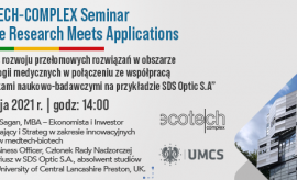 24.05.2021 r. - ECOTECH-COMPLEX Seminar. Where Research...