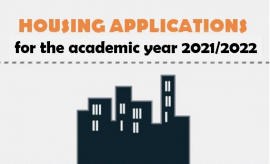 First round of accommodation application for 2021/22...