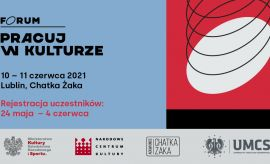 Zapisy na II Forum Pracuj w kulturze trwają do 4 czerwca!