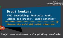 """Rozstrzygnięcie II konkursu w ramach XVII LFN """"Discover..."""