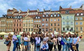 Integracyjny wyjazd studentów zagranicznych UMCS do Warszawy