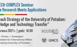 28 czerwca 2021 - ECOTECH-COMPLEX Seminar. Where Research...