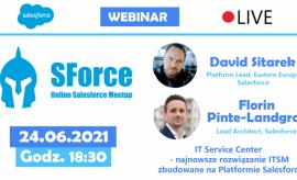 SForce - Online Salesforce Meetup #13 - wydarzenie dla...