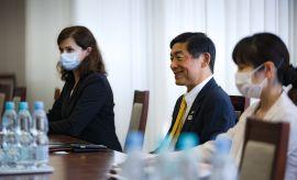Wizyta Ambasadora Japonii w Polsce na UMCS