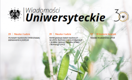 Biuro Rozwoju Kompetencji UMCS - artykuł w Wiadomościach...