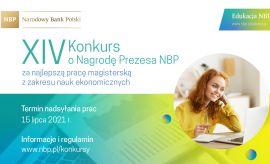 XIV Konkurs o Nagrodę Prezesa NBP za najlepszą pracę...