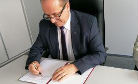 Podpisanie umowy o współpracy akademickiej z Politechniką...