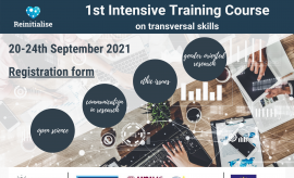 Intensive Training Course on transversal skills- 20-24...
