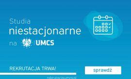 Studia niestacjonarne na UMCS!