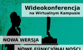 """Webinarium """"Wideokonferencja na Wirtualnym Kampusie –..."""
