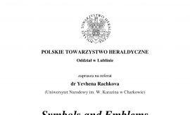 Lubelski oddział Polskiego Towarzystwa Heraldycznego...