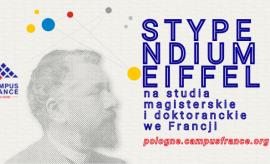 Program Stypendialny Eiffel 2022-2023