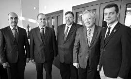 Spotkanie z delegacją z Krzemieńczuka