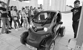 Wizyta studentów w Lubelskim Parku Naukowo-Technologicznym