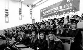 Absolutoria 2015 - uroczyste zakończenie studiów
