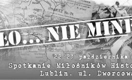 Spotkanie miłośników historii 22-23.10.2016 r.