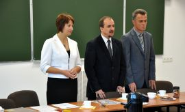 Pierwsze posiedzenie Rady Wydziału