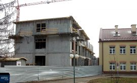 Budowa nowego skrzydła budynku Wydziału Nauk o Ziemi i...