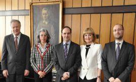 Wizyta Ambasador Portugalii