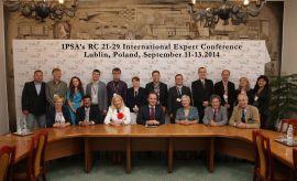 IPSA`s RC21-29 international expert conference
