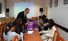 Studenci z Yamaguchi Prefectural University na WFiS