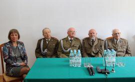 Spotkanie z byłymi żołnierzami Armii Krajowej