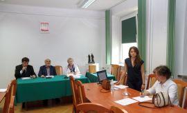 Publiczna obrona rozprawy doktorskiej mgr Luizy Nowakowskiej