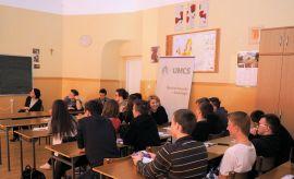 Warsztaty dla licealistów - LO w Opolu Lubelskim