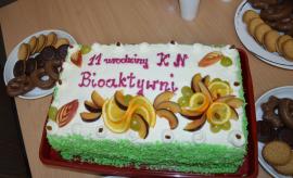 """11 urodziny Koła Naukowego """"Bioaktywni"""""""