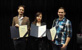 Wręczenie dyplomów w ramach Własnego Funduszu Stypendialnego