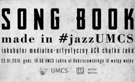 Song Book Made in #jazzUMCS