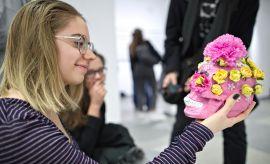 """""""Dotyk sztuki"""" - wystawa dla osób niewidomych i..."""