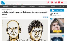 Komentarze prof. Mariusza Barczaka o Nagrodzie Nobla z...