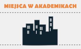 Miejsca w akademikach - składanie wniosków i terminy