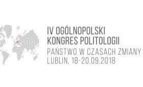 IV Ogólnopolski Kongres Politologii - zapowiedź