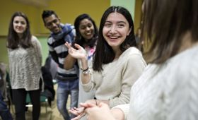 Networking event for international students