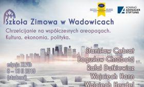 Zaproszenie: Szkoła zimowa w Wadowicach