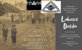 Spotkanie autorskie z Łukaszem Bajdą (5.02.2019)