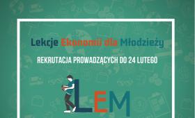 """Projekt """"Lekcje Ekonomii dla Młodzieży"""""""